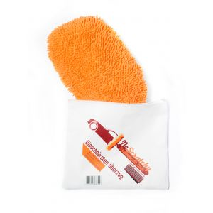 NoScratchy Cleaningbrush Cover | Waschbürstenüberzug | 900gsm | orange auto-und-teile.de