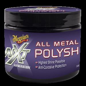 Meguiar`s G13005 NXT Metallpolitur, Chrompolitur und Versiegelung