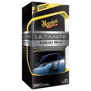 Meguiar's Ultimate Liquid Wax | 473 ml Flüssigwachs | flüssiges Autowachs  G18216EU
