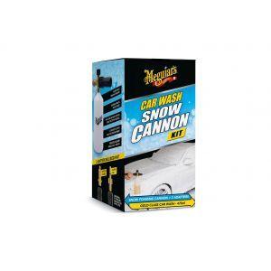 Meguiar's Snow Foam Cannon Kit | Set aus Schaumdüse, Adapter für Hochdruckreiniger & Gold Class Autoshampoo G192000EU