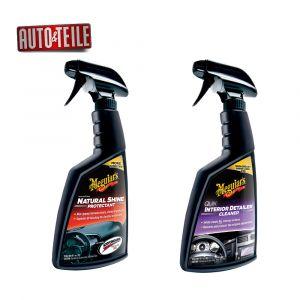 Geschenkset mit Meguiar Quick Interior Cleaner G13616 Natural Shine Protectant matter Glanz und Geschenktüte