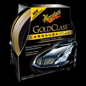 Autowachs: Meguiar's Gold Class Carnauba Plus Paste Wax: Wachspaste mit Carnaubawachs und lackschützenden Polymeren: langanhaltender Tiefenglanz, UV-Schutz