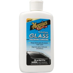 Meguiar's G8408EU Perfect Clarity Glass Polishing Compound, Glastiefenreiniger Glaspolitur
