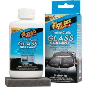 Meguiar's G8504EU Perfect Clarity Glass Sealant, Glasversiegelung Windschutzscheibe abperlen